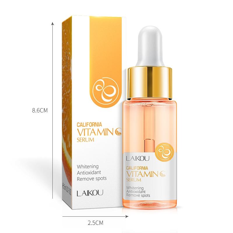 15ml natural moisturizing whitening facial vitamin c serum