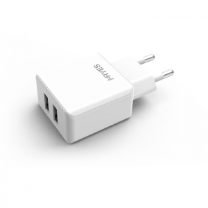 EU Mobile Charger  (dual USB) (CDQ-02)