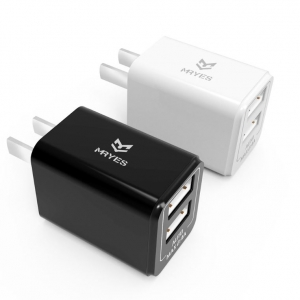 Portable dual mini USB Charger (CDQ-01)