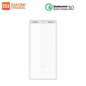 Original Xiaomi Power Bank Quick Charge 20000mAh 2C External Battery Portable Charging