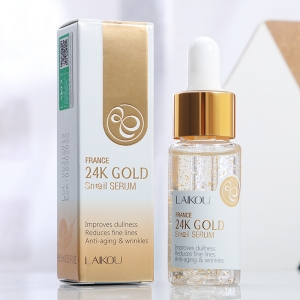 France 24k gold serum snail essence anti aging wrinkles