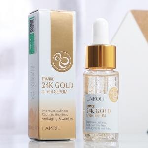 France 24k gold serum snail essence anti aging wrinkles