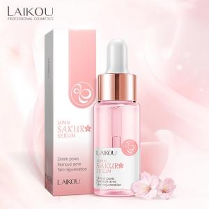 Skin care 15ml facial whitening sakura face serum